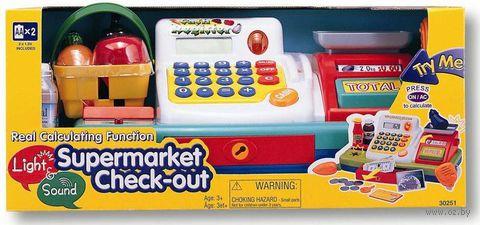 """Игровой набор """"Супермаркет"""" (со звуковыми и световыми эффектами; арт. 30251)"""