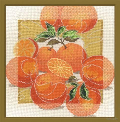 """Набор для вышивания """"Дары садов. Апельсины"""" (280x280 мм) — фото, картинка"""