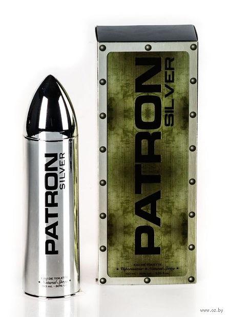 """Туалетная вода для мужчин """"PATRON Silver"""" (100 мл) — фото, картинка"""