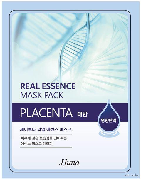 "Тканевая маска для лица ""Плацента"" (25 мл) — фото, картинка"