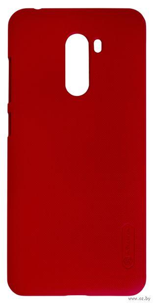 Чехол Nillkin для Xiaomi Pocophone F1 (красный) — фото, картинка