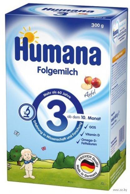 """Сухая молочная смесь Humana """"Folgemich 3. Apfel"""" (300 г) — фото, картинка"""