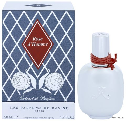 "Парфюмерная вода для мужчин ""Rose d`Homme"" (50 мл) — фото, картинка"