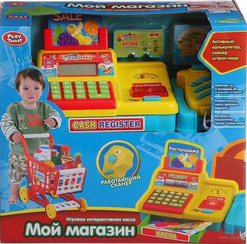 """Игровой набор """"Касса с тележкой для продуктов"""" — фото, картинка"""
