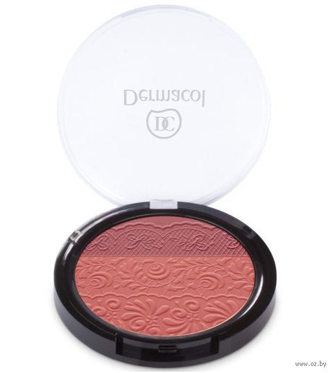 Румяна двухцветные (тон: персиково-розовый)