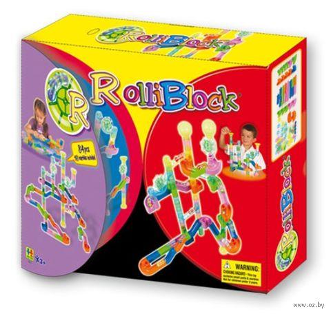 """Конструктор """"Rolliblock. Junior"""" (84 детали)"""