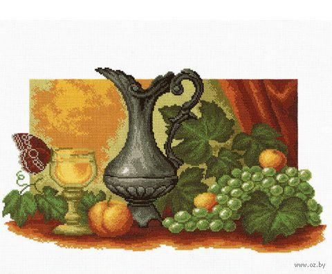 """Вышивка крестом """"Натюрморт с виноградом"""""""