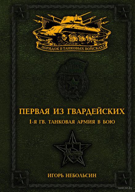 Первая из Гвардейских. 1-я танковая армия в бою — фото, картинка