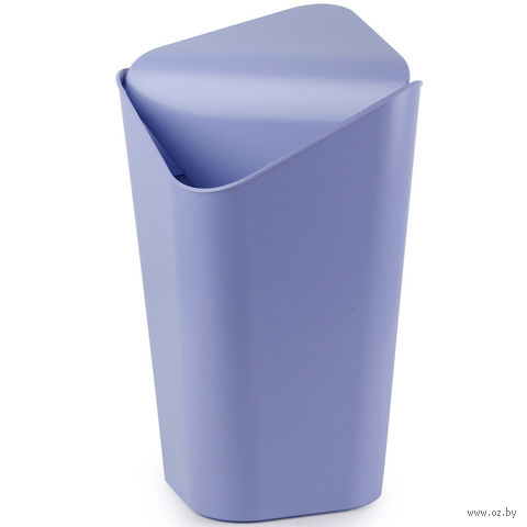 """Корзина для мусора угловая """"Corner"""" (лавандовая)"""