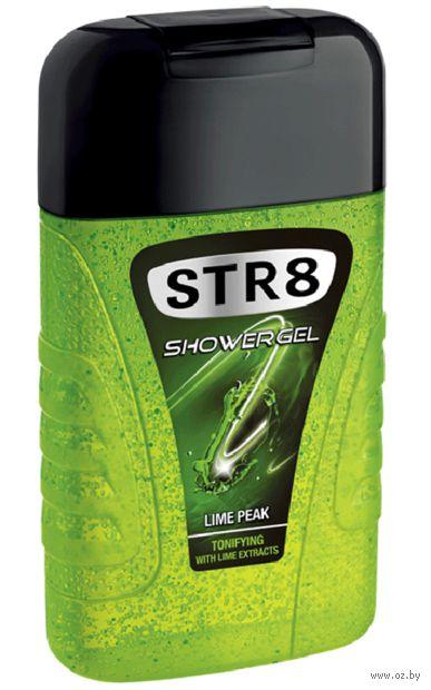 """Гель для душа 2в1 """"Str8 hair and body. Lime peak"""" (250 мл)"""