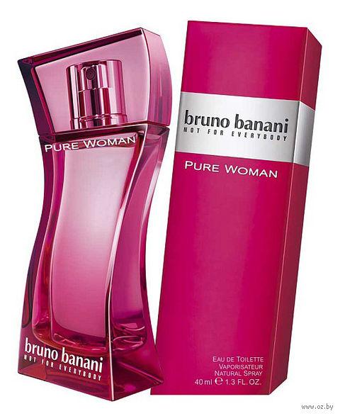 "Туалетная вода для женщин Bruno Banani ""Pure Women"" (40 мл)"