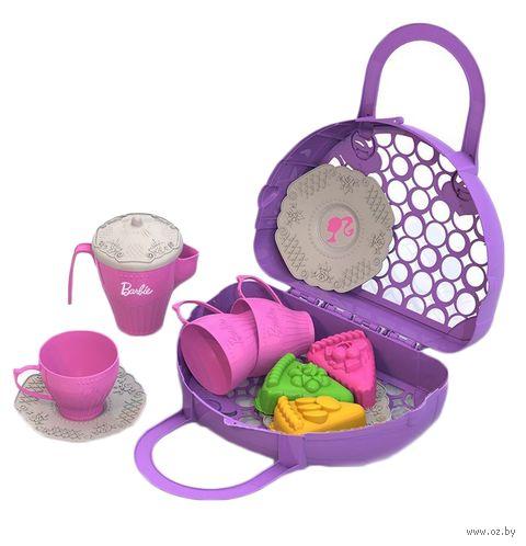 """Набор детской посуды """"Барби. Веселое чаепитие"""" — фото, картинка"""