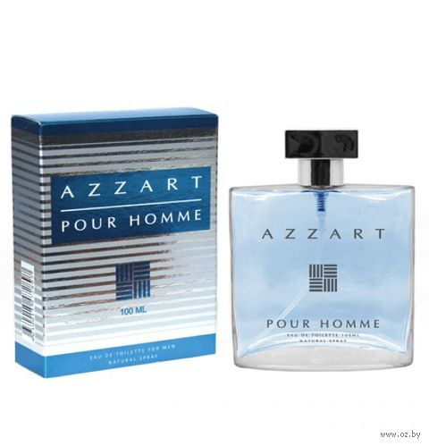 "Туалетная вода для мужчин ""Azzart Pour Homme"" (100 мл) — фото, картинка"
