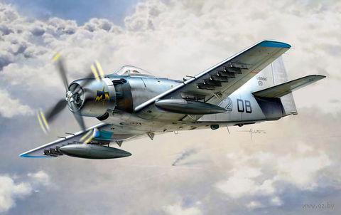 """Штурмовик """"AD-4 Skyraider"""" (масштаб: 1/48) — фото, картинка"""