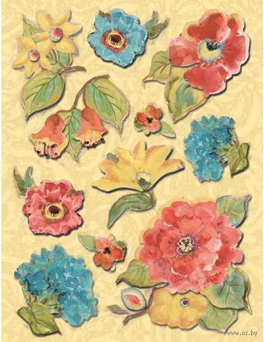 """Стикеры для скрапбукинга """"Секреты природы. Цветы"""""""