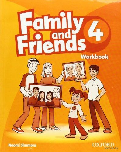 Family and Friends 4. Workbook. Наоми Симмонс