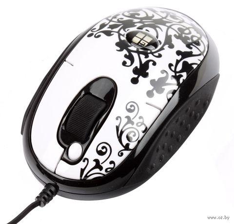 Мышь A4Tech G-CUBE GLBW-20EN (бело-черная) — фото, картинка