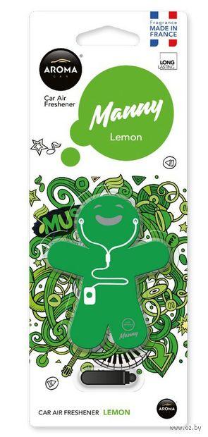 """Ароматизатор """"Manny"""" (lemon) — фото, картинка"""