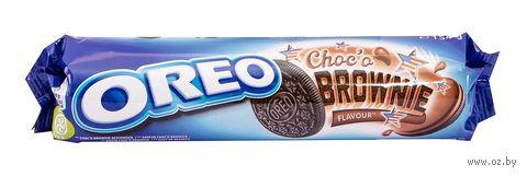 "Печенье ""Oreo. Шоколадный брауни"" (154 г) — фото, картинка"