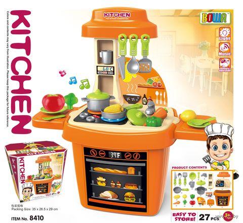 """Игровой набор """"Кухня""""(со световыми и звуковыми эффектами; арт. 8410) — фото, картинка"""