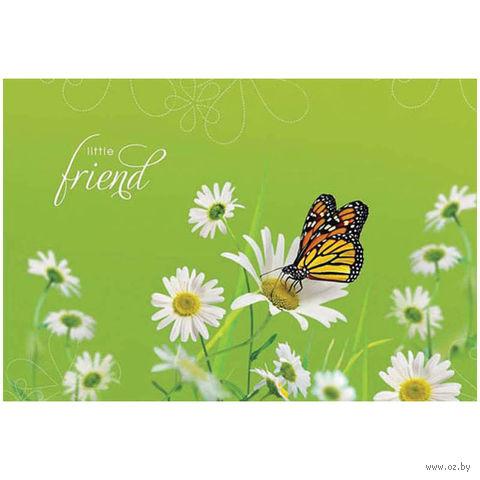 """Альбом для рисования А4 """"Цветы. Насекомые. Little Friends"""" (12 листов)"""