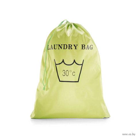 """Чехол складной для вещей """"Laundrybag"""" (лайм)"""