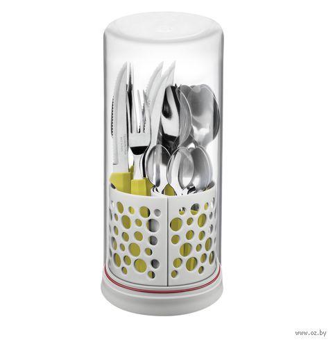 """Набор столовых приборов """"Multiply"""" (27 предметов; желтый) — фото, картинка"""