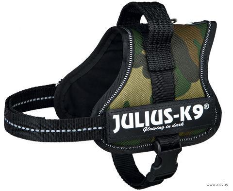 """Шлея тренировочная """"Julius-K9"""" (40-53 см; камуфляж) — фото, картинка"""