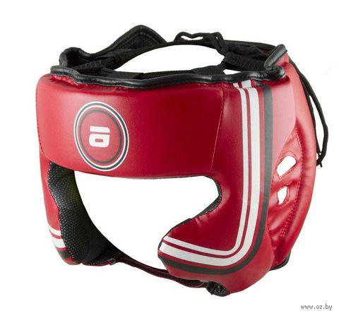 Шлем боксёрский (M; красный; арт. LTB-16320) — фото, картинка