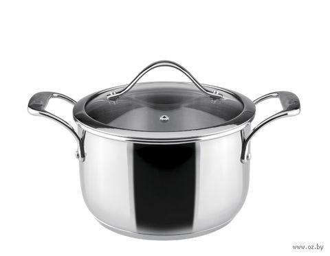 """Кастрюля металлическая с крышкой """"Chef"""" (3,6 л) — фото, картинка"""