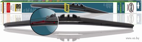 """Щетка стеклоочистителя бескаркасная """"Hybrid 025"""" (15""""/38 см; арт. 13030) — фото, картинка"""