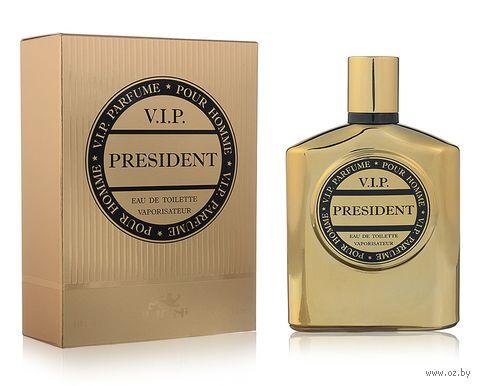 """Туалетная вода для мужчин """"V.I.P. President"""" (100 мл) — фото, картинка"""