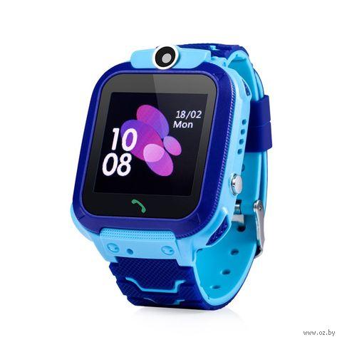 Умные часы Wonlex GW600S (синие) — фото, картинка