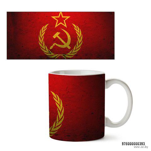 """Кружка """"СССР"""" (белая) — фото, картинка"""