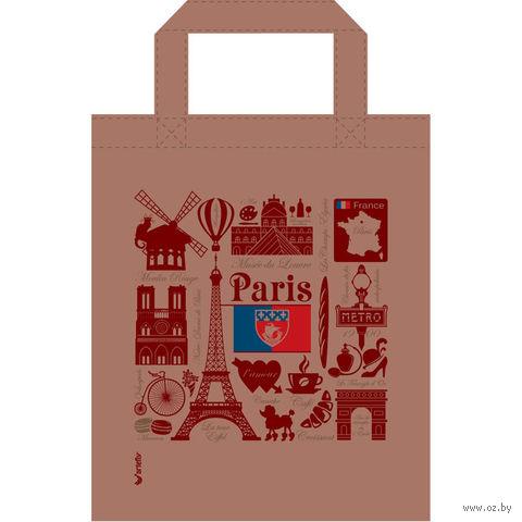 """Сумка """"Париж"""" (бежевая) — фото, картинка"""