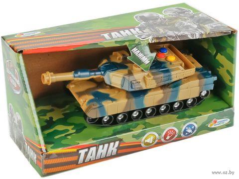 Танк (со световыми и звуковыми эффектами; арт. B1576684-R) — фото, картинка