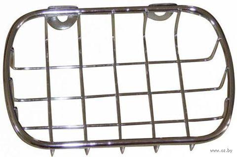 Подставка для мыла металлическая (140х95х30 мм)
