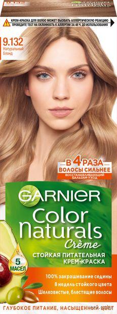 """Крем-краска для волос """"Color Naturals"""" (тон: 9.132, натуральный блонд) — фото, картинка"""