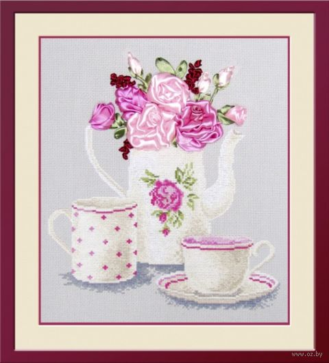 """Набор для вышивания """"Чайная фантазия"""" (250x280 мм) — фото, картинка"""