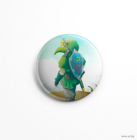 """Значок маленький """"Zelda"""" (арт. 073) — фото, картинка"""