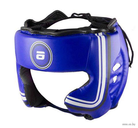 Шлем боксёрский (M; синий; арт. LTB-16320) — фото, картинка