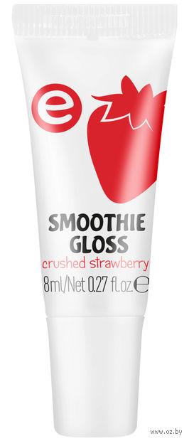 """Блеск для губ """"Smoothie Gloss"""" (тон: 04, красная клубника) — фото, картинка"""