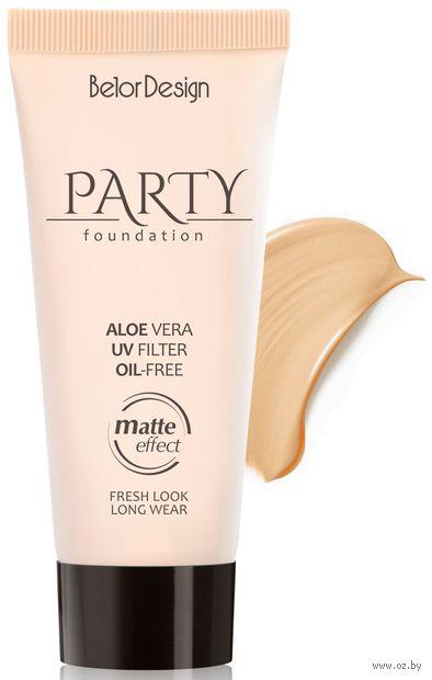 """Тональный крем для лица """"Party"""" тон: 06, слоновая кость — фото, картинка"""