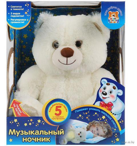 """Мягкая игрушка """"Мишка. Колыбельные"""" (30 см) — фото, картинка"""