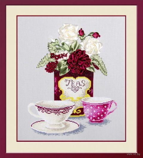 """Вышивка крестом """"Чайная фантазия"""" (250x300 мм) — фото, картинка"""