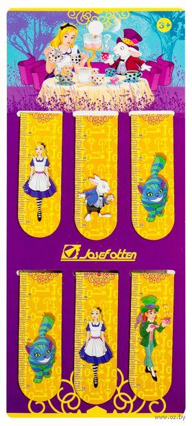 """Набор магнитных закладок """"Алиса"""" (6 шт.) — фото, картинка"""