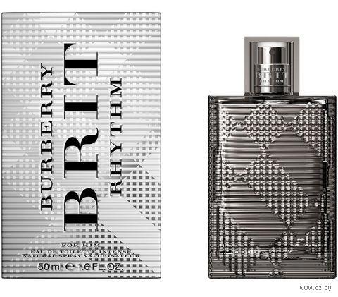 """Туалетная вода для мужчин Burberry """"Brit Rhythm Intense"""" (50 мл)"""