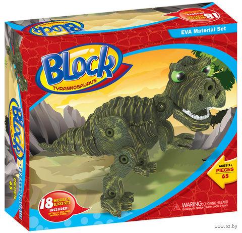 """Конструктор """"Тираннозавр"""" (65 деталей) — фото, картинка"""