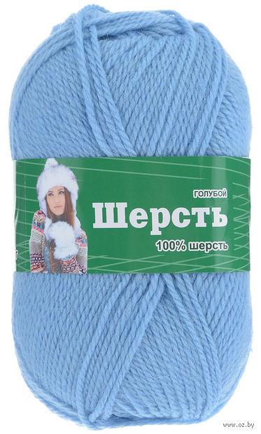 "Пряжа ""Астра. Wool"" (голубая; 100 г; 200 м) — фото, картинка"