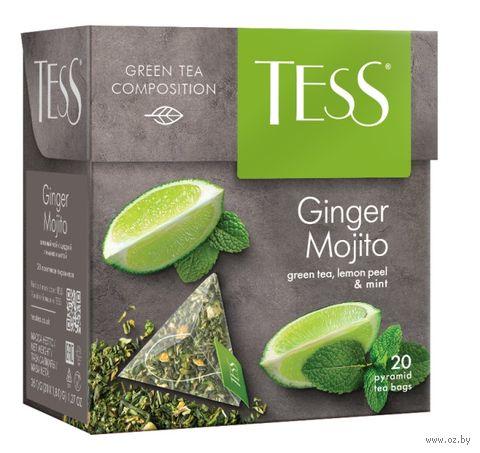 "Чай зеленый ""Tess. Ginger Mojito"" (20 пакетиков) — фото, картинка"